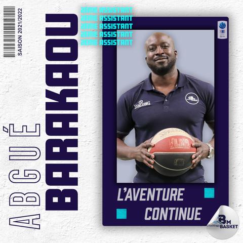 Saison 2021-2022 : Abgué Barakou, 2nd assistant