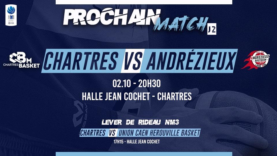 Programme du match du 2 octobre