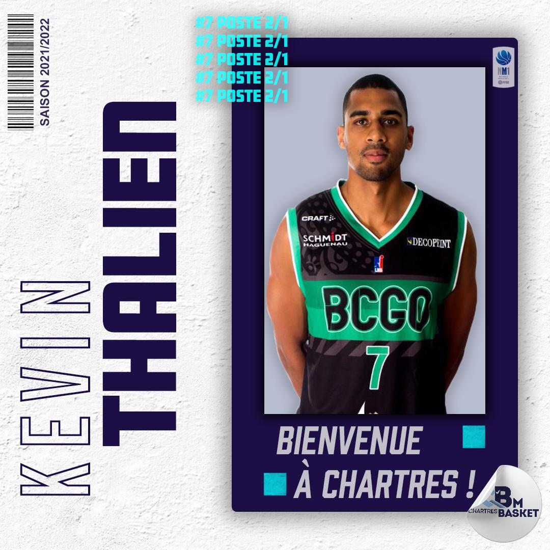Saison 2021-2022 : Thalien s'engage avec Chartres