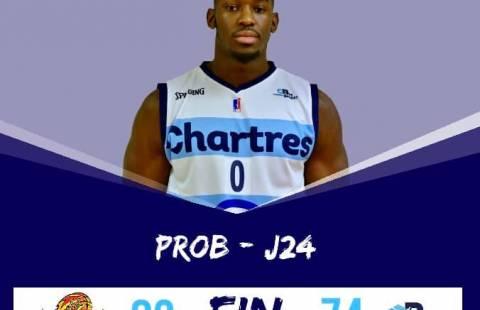Nouvelle défaite ce soir à Vichy 74-82