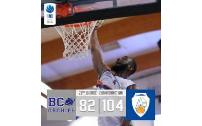 Grosse Perf à Orchies .. Victoire 104-82