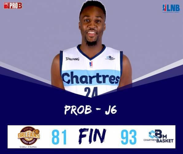 Superbe victoire chez le premier de la ProB (OLB)  94 -81