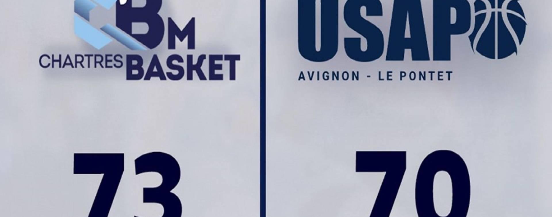 Et de 6  .   Victoire contre Avignon 73-70