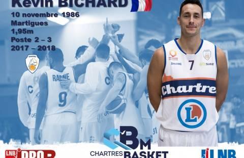 Kevin Bichard reste au C'CBM en 2018-2019