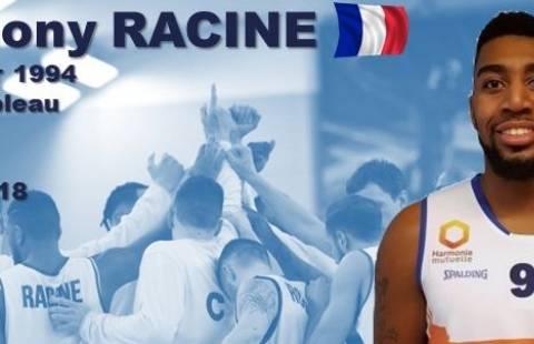 Anthony Racine prolonge au C'Chartres Basket Masculin