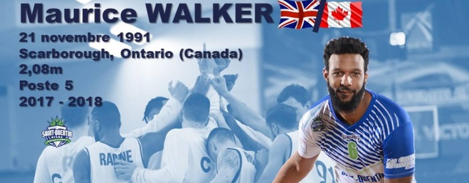 Le pivot Maurice Walker Signe au C'CBM