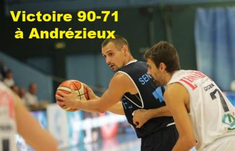 Victoire contre Andrézieux  90-71